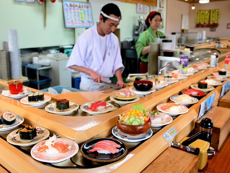 The Traditional Fast Foods of Japan Sushi