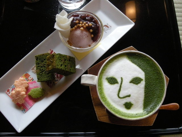 Yojiya Cafe Matcha Restaurants in Kyoto 2017