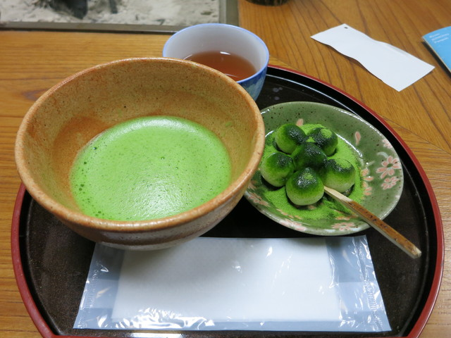 Mitsuboshien Kanbayashisannyuu-honten Matcha Restaurants in Kyoto 2017