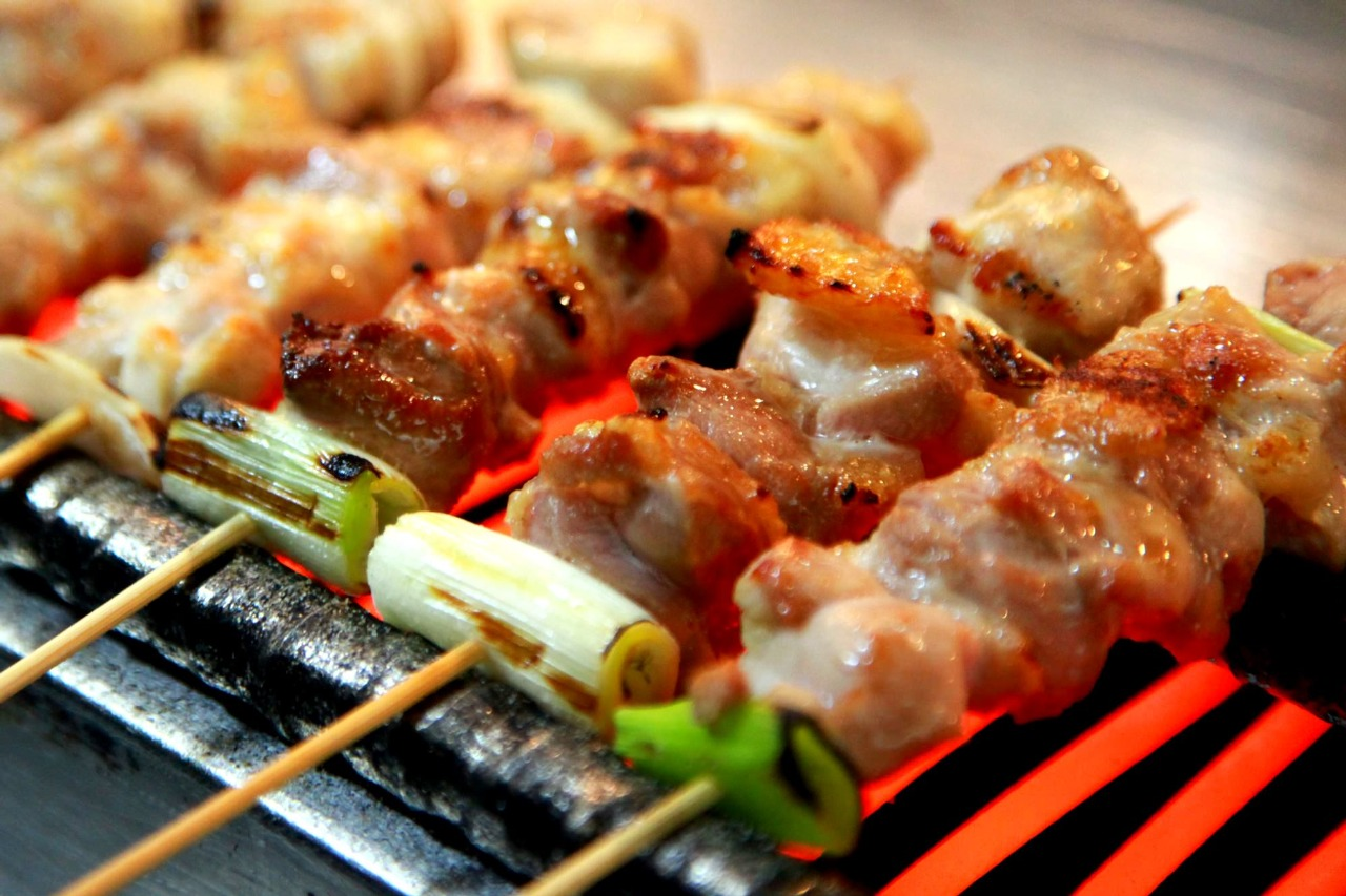 The Traditional Fast Foods of Japan Yakitori