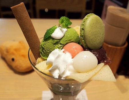 Honke Nishio Yatsuhashi Matcha Restaurants in Kyoto 2017