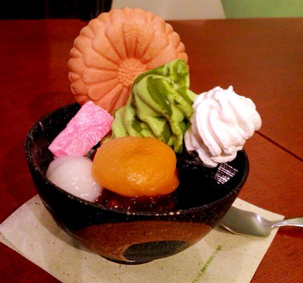 Anmitsu: Zen Chafe (Nihonbashi)