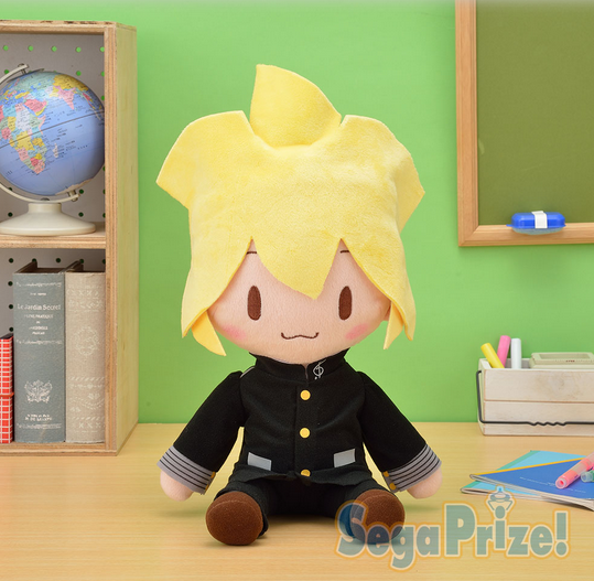 Hatsune Miku Series Kagamine Rin Uniform Ver Mega Jumbo stuffed toy