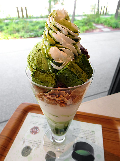 Parfait: Nana's Green Tea (Jyuugaoka)