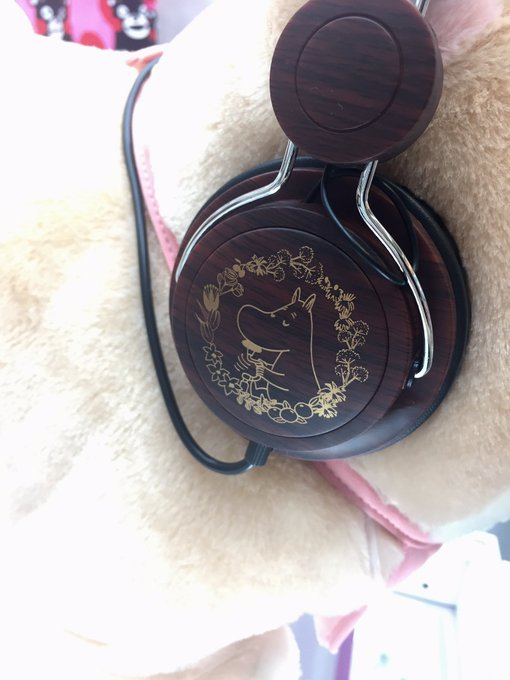 Mumin Wooden Headphone